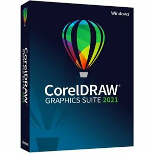 CorelDRAW 2021 for Windows Graphics Suite *Brand New & Sealed *Full Version*