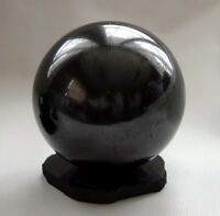 20 mm Shungite Sphere Elite Shungite Specimen Anti Radiation Detox Stone Karelia