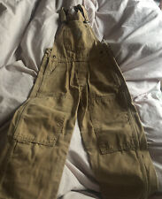 Carhartt Brown Overalls - Size 4T