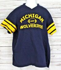 Michigan Wolverines Football Shirt Size Youth XL