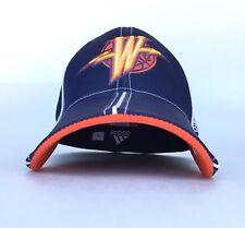 NBA Golden State Warriors Thunderbolt Logo Adidas Brand Baseball Cap Hat Flex L