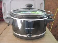 Hamilton Beach Stay or Go Slow Cooker/Crock Pot, 4-Qrt, Silver, UNUSED Orig. Box
