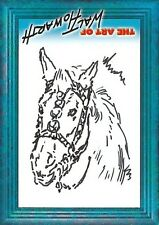 Walt Howarth - The Art of - Sketch Card [ 2 ] from Strictly Ink