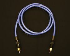 Van Damme Blue Ultra Subwoofer Cable 2 Metre Length
