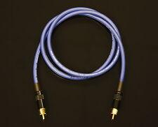 Van Damme Blue Ultra Subwoofer Cable 2 Metre Length