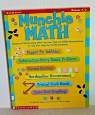 Munchie Math Grades K-2 Scholastic Teaching Resource Book by Eckenrode & Rogers
