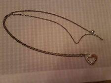 Schöne Halskette - Jette - von Jette Joop, 925er Silber, Kette mit Herzanhänger