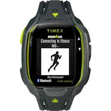 TIMEX IRONMAN RUN X50+ Sportwatch TW5K84500 Silicone Grigio Giallo Bluetooth