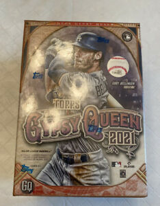 Topps Gypsy Queen 2021 MLB Baseball Blaster Box - 7 Packs - NEW AND SEALED!!