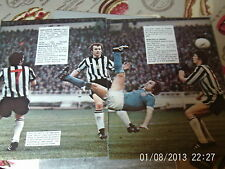 Newcastle united v Manchester city colour and B+W pictures lot 5 full