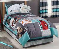 Disney Star Wars Episode VIII The Last Jedi Full/Queen Comforter & Sheet Set NEW