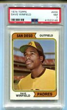 1974 Topps Dave Winfield Rookie #456 PSA 7 NM - Set Registry (CBF)