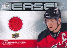 2010/11 Upper Deck Series Two DJ2-JL Jamie Langenbrunner UD Game Jersey Insert