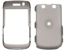 Rubber Coated Case Smoke For BlackBerry Bold 9700