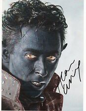 ALAN CUMMING Signed 10x8 Photo Nightcrawler In X-MEN  COA