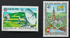 AUTRICHE timbre - Yvert et Tellier n°1751 et 1752 n** stamp Austria (cyn5)