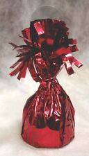 Balloon Weights RED Foil birthday party favors 6.2 oz