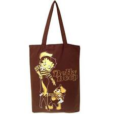 Genuine Betty Boop 'Oh La La' Cotton Tote Shopping Bag Travel Bag Gym Beach