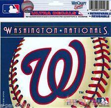 MLB WASHINGTON NATIONALS WINDOW DECAL ~ Birthday Party Supplies Sports Baseball