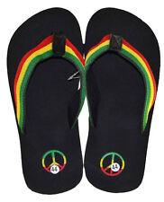 Rasta Slipper Footwear Jamaican Sandal-size 8(europe 40)