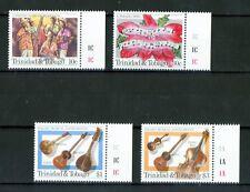 Trinidad & Tobago 1984 - Musikinstrumente - Geige Gitarre Weihnachten Nr. 510-13
