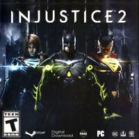 Injustice 2 Steam key PC Region Free world wide digital
