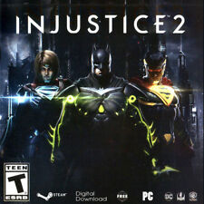 Injustice 2 Steam key PC Region Free Download Code world wide