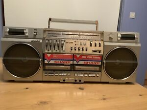 Sharp Vintage Radio/Cassette Player GF 575E. Exceptional.  Pls No Time wasters.