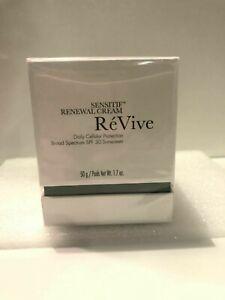 ReVive Sensitif Renewal Cream SPF 30, 50g/1.7oz  NIB