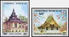 Timbres Religion Laos PA64/5 * lot 29470