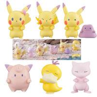 Pokemon Ditto Ver Queue Pikachu Mew Psyduck Jigglypuff Figure Toy Set of 6PCS