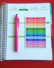 28 Study Planner Stickers for Various Types of Planners (#175)
