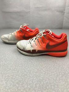 Nike Zoom Vapor 9.5 Tour Tennis Shoes 631475-800 Total Crimson Womens 9 KG RR34