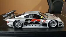 MAISTO GT RACING 1997/98 MERCEDES-BENZ CLK-GTR 1/18 Warsteiner D2 SILVER #11