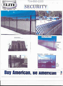 ALUMINUM FENCE / RESIDENTIAL / COMMERCIAL / SMALL & LARGE  JOBS / USA MATERIAL