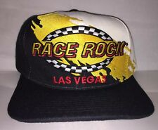 92b1d3f021f Vtg Race Rock Las Vegas SPLASH Snapback hat cap rare 90s nwot deadstock  racing