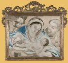0131-Weihnachten, St Family, Embroidery Picture From Mary Farina 1721