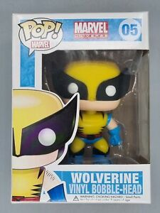 #05 Wolverine - Marvel - Funko POP - Includes POP Protector