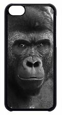 For Apple iPod 4 5 6 Cute Gorilla Monkey Wildlife Animal Print Back Case Cover