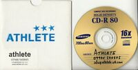 ATHLETE Pre-Parlophone Demos UK 2-track promo only CD-R