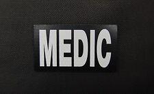 SOLAS Reflective MEDIC Patch EMT USMC Hospital Corpsman USAF US Army VELCRO®