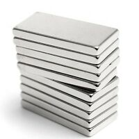5 o 10Pcs Bloque Iman Super Potente Fuerte Neodimio N35 20x10x2mm Magnet