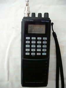 Yupiteru MVT7100 1000 Channel All Mode Scanner with manual , charger, aerial etc