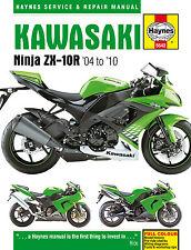 Kawasaki ZX1000 ZX-10R Haynes Manual Repair Manual Workshop Manual 2004-2010