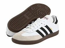 Adidas Samba Classic White Athletic Lifestyle Casual Shoes 772109 Mens Sz 8-13.5