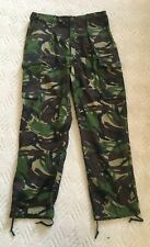 British Army DPM pattern camouflage combat trousers