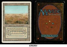 MRM ENGLISH Scrubland - Brousse GOOD / Played MTG magic REVISED ( SCR01REV)