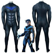 Nightwing Costume Cosplay Suit Dick Grayson Titans Season 1  Bodysuit Jumpsuit
