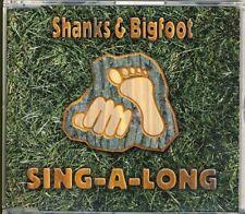 SHANKS & BIGFOOT - sing-a- long  6 trk MAXI CD 2000