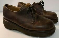 dr martens boots womens size 4 Brown
